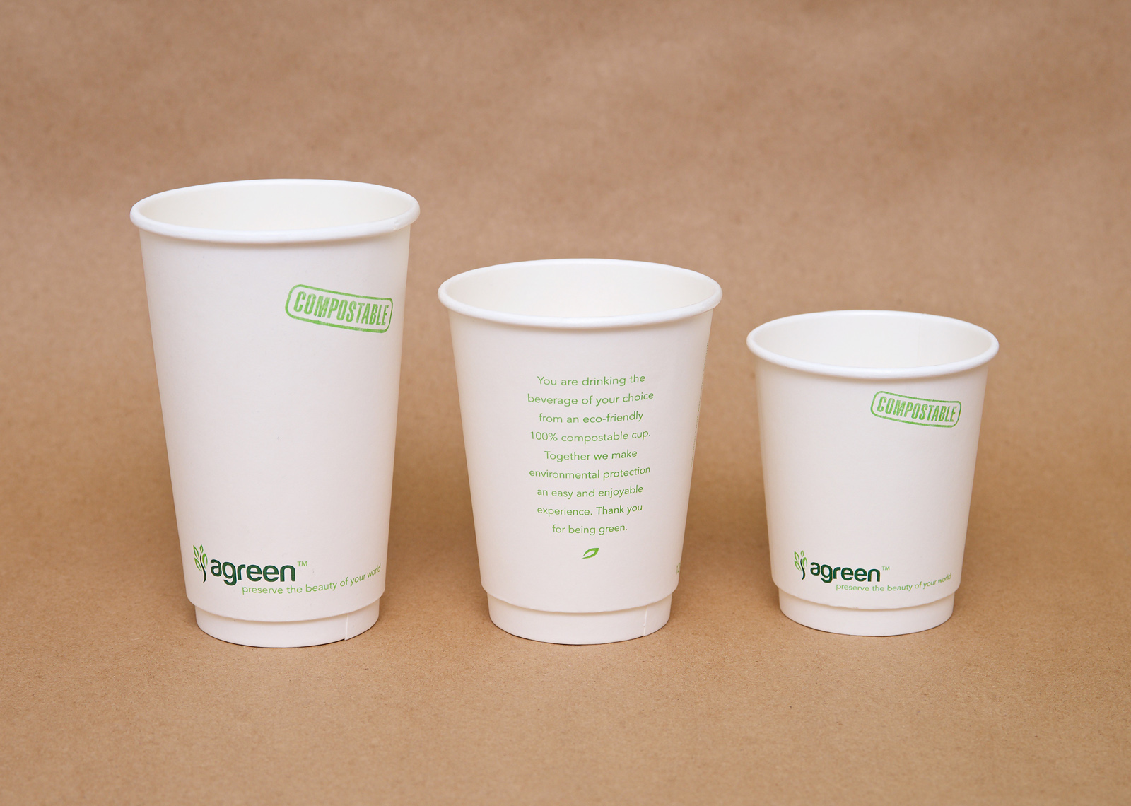 ab16b0db268 Agreen™ brand double-wall hot drink cup presents an excellent option to  eliminate the use of second cup or a cup sleeve. Agreen™ insulated double-wall  cups ...